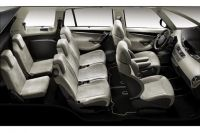 'Interieur C4 picasso en version 7 places'